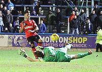 Greenock Morton v Rangers 250116