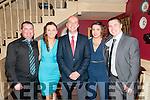 Listowel Celtic Annual Dinner : Attending the Listowel Celtic Fc dinner dance in the Listowel Arms Hotel on Friday night last were John & Sarah McGlynn, David Lyons, Sinead O'Carroll & Adam Toomey.
