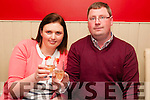 Engagement : Martina Kelly, Lixnaw & James Egan, Tarbert celebrating their engagement at Eabha Joan's Restaurant, Listowel on Saturday evening last.