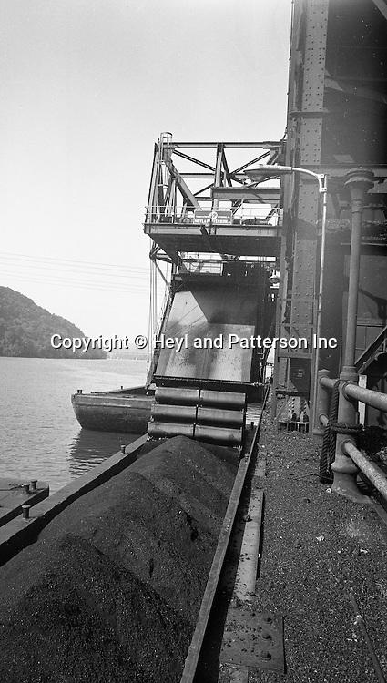Client: Heyl and Patterson Company<br /> Ad Agency: Heyl and Patterson Marketing<br /> Product: Coal Handling and Processing Equipment<br /> Location: New Florence PA:  <br /> <br /> On location photography for Heyl &amp; Patterson. Coal handling conveyor in position to pull coal up to the Conemaugh Power Plant. Founded in 1887, Heyl &amp; Patterson is a leader in the design and construction of bulk transfer and thermal processing equipment for customers in a wide range of industries, including chemical, steel, biomass, energy, ports, and mining &amp; minerals.