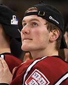 Adam Fox (Harvard - 18) - The Harvard University Crimson defeated the Boston University Terriers 6-3 (EN) to win the 2017 Beanpot on Monday, February 13, 2017, at TD Garden in Boston, Massachusetts.