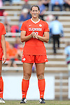 25 October 2015: Clemson's Jenna Weston. The University of North Carolina Tar Heels hosted the Clemson University Tigers at Fetzer Field in Chapel Hill, NC in a 2015 NCAA Division I Women's Soccer game. UNC won the game 1-0.