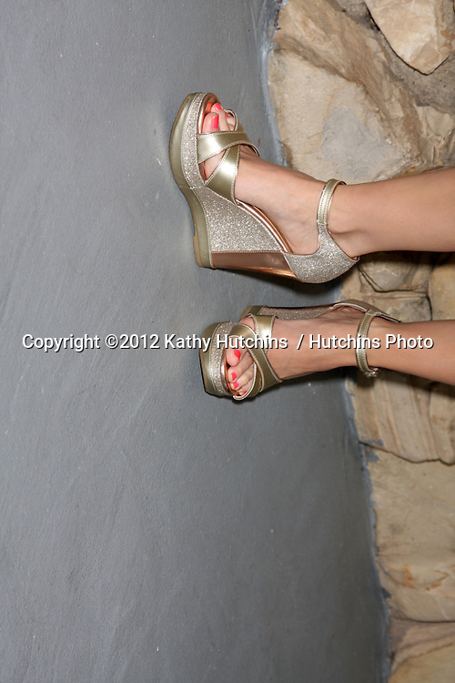 LOS ANGELES - JUL 21:  Jen Lilley arrives at the 2012 General Hospital Fan Club Luncheon at Sportsman's Lodge  on July 21, 2012 in Studo City, CA