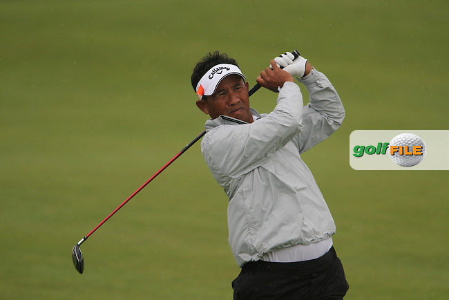 Thongchai Jaidee (THA) on the 9th on Day 2 of the Alstom Open de France at Golf National,  Saint-Quentin-En-Yvelines, Paris, France, 6/7/12...(Photo Jenny Matthews/www.golffile.ie)