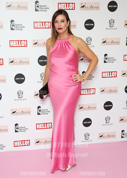 Catalina Guirado arriving at the The Amy Winehouse foundation ball held at the Dorchester hotel, London. 20/11/2012 Picture by: Henry Harris / Featureflash
