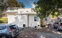 Food Justice House, 4863 Stratford Road near the campus of Occidental College, Sept. 25, 2019.<br /> (Photo by Marc Campos, Occidental College Photographer)
