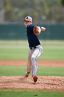 Michael Fowler (75) during the WWBA World Championship at the Roger Dean Complex on October 11, 2019 in Jupiter, Florida.  Michael Fowler attends Hewitt-Trussville High School in Trussville, AL and is committed to Louisiana State.  (Mike Janes/Four Seam Images)