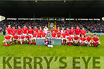 The East Kerry Team before the Kerry County Senior Club Football Championship Final match between East Kerry and Dr. Crokes at Austin Stack Park in Tralee, Kerry.