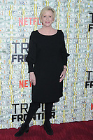 03 March 2019 - New York, New York - Eve Plumb. The World Premiere of &quot;Triple Frontier&quot; at Jazz at Lincoln Center. <br /> CAP/ADM/LJ<br /> &copy;LJ/ADM/Capital Pictures