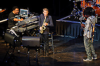 George Duke, Marcus Miller and David Sanborn concert at Touhill in St. Louis, MO on Aug 7, 2011.