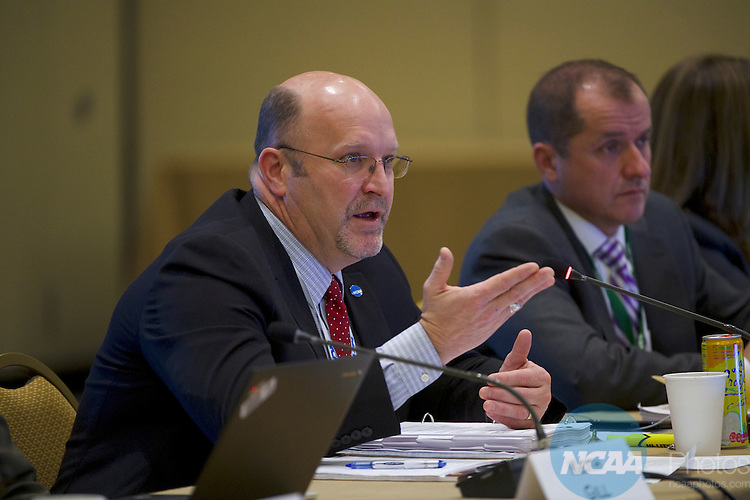 18 JAN 2017: The Division I Council meeting takes place during the 2017 NCAA Convention at the Gaylord Opryland Resort and Convention Center in Nashville, TN.  Jamie Schwaberow/NCAA Photos  (Pictured:  Kevin Lennon)