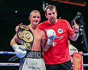 30th September 2017, Echo Arena, Liverpool, England; Matchroom Boxing, Eliminator for WBA Bantamweight World Championship;  Paul Butler versus Stuart Hall; Paul Butler wins on points