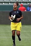 29 March 2009: Los Angeles' Brittany Cameron. Los Angeles Sol defeated the Washington Freedom 2-0 at the Home Depot Center in Carson, California in a regular season Women's Professional Soccer game. The game was the WPS Inaugural game.