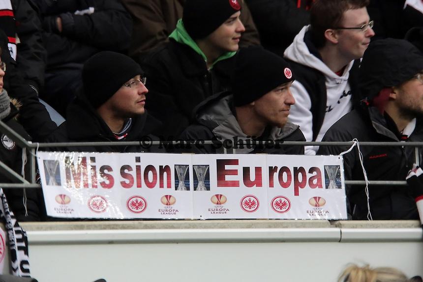 Eintracht Frankfurt Fans auf Mission Europa