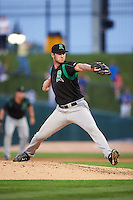 Dayton Dragons relief pitcher Conor Krauss (29) delivers a pitch during a game against the Peoria Chiefs on May 6, 2016 at Dozer Park in Peoria, Illinois.  Peoria defeated Dayton 5-0.  (Mike Janes/Four Seam Images)