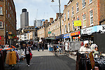 Petticoat Lane market, London E1