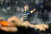 Freddie Burns of Bath Rugby. European Rugby Champions Cup match, between Benetton Rugby and Bath Rugby on January 20, 2018 at the Municipal Stadium of Monigo in Treviso, Italy. Photo by: Patrick Khachfe / Onside Images