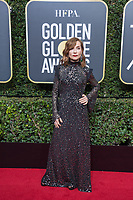 Isabelle Huppert arrives at the 75th Annual Golden Globe Awards at the Beverly Hilton in Beverly Hills, CA on Sunday, January 7, 2018.<br /> *Editorial Use Only*<br /> CAP/PLF/HFPA<br /> &copy;HFPA/PLF/Capital Pictures