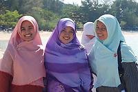 FILE PHOTO - Muslims on a beach in Koh Phi Phi, Thailand,<br /> , April, 2010.<br /> <br /> PHOTO : Agence Quebec Presse