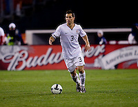 Carlos Bocanegra. The USMNT tied Costa Rica, 2-2, during the FIFA World Cup Qualifier at  RFK Stadium, in Washington, DC.   With the result, the USMNT qualified for the 2010 FIFA World Cup Finals in South Africa.
