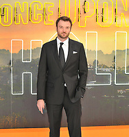 """LONDON, ENGLAND - JULY 30: Costa Ronin at the """"Once Upon A Time In ... Hollywood"""" UK film premiere, Odeon Luxe Leicester Square, Leicester Square, on Tuesday 30 July 2019 in London, England, UK.<br /> CAP/CAN<br /> ©CAN/Capital Pictures"""
