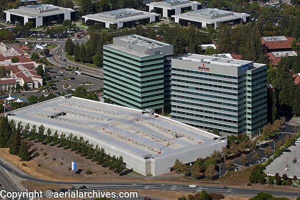 aerial photograph Broadcom, Santa Clara, California
