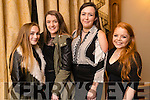 Emma Coffey, Beaufort, Ciara O'Sullivan, Beaufort, Niamh O'Connor, Tralee and Laura Mitchell, Tralee at Home and Away star George Mason appearance at the Meadowlands Hotel on Sunday.