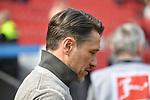 14.04.2018, BayArena, Leverkusen , GER, 1.FBL., Bayer 04 Leverkusen vs. Eintracht Frankfurt<br /> im Bild / picture shows: <br /> Trainer / Headcoach Niko Kovic (Eintracht Frankfurt),  dem&auml;chst bei Bayern M&uuml;nchen <br /> <br /> <br /> Foto &copy; nordphoto / Meuter
