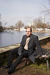 Germany, Berlin, 2018/02/19<br /> <br /> Joachim Seinfeld, artist<br /> <br /> Funkhaus Berlin Photo by Gregor Zielke (Photo by Gregor Zielke)
