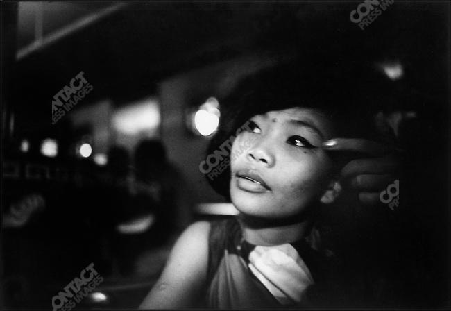 The Vietnam War, Vietnamese prostitute, Saigon, South Vietnam, November 1967
