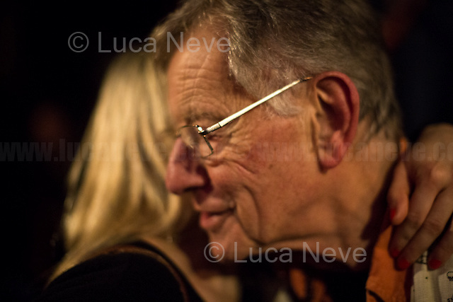 Lee Harris.<br /> <br /> London, 14/01/2017. Documenting the farewell party of Lee Harris and its famous Alchemy, the oldest established headshop in London opened in Portobello Road in 1972. The party took place at the Mau Mau Bar in Portobello. From the organiser Facebook event page: &lt;&lt;Farewell Party for the Alchemy Shop. Lee and Henk want to thank you all and get together to celebrate 45 years of being in the business of 'turning people on'!!! Very Special Guests, Live Music, DJ's and lightshow and a lot more!! Lots of familiar faces!! [&hellip;] ONE LOVE !!! [&hellip;]&gt;&gt;.<br /> <br /> For more information about Lee Harris and Alchemy please click here: https://en.wikipedia.org/wiki/Lee_Harris_(South_African_artist) &amp; http://www.homegrownmagazine.co.uk/