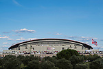 Wanda Metropolitano is seen prior to the La Liga 2017-18 match between Atletico de Madrid and Malaga CF on 16 September 2017 in Madrid, Spain. Photo by Diego Gonzalez / Power Sport Images