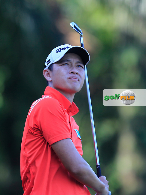 Ben Leong (MAS) on the 5th tee during Round 4 of the Maybank Championship on Sunday 12th February 2017.<br /> Picture:  Thos Caffrey / Golffile<br /> <br /> All photo usage must carry mandatory copyright credit     (&copy; Golffile | Thos Caffrey)