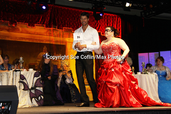 Costume Contest during Venetian Masquerade Faery Ball at Romantic Times Booklovers Annual Convention 2011 - The Book Industry Event of the Year - April 6th to April 10th at the Westin Bonaventure, Los Angeles, California for readers, authors, booksellers, publishers, editors, agents and tomorrow's novelists - the aspiring writers. (Photo by Sue Coflin/Max Photos)