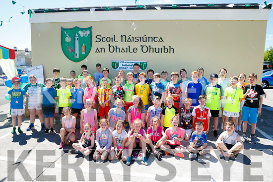 After the 5k Run at the BALLYDUFF N.S 50th ANNIVERSARY celebration  Family fun day on Sunday