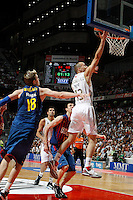13.06.2012 SPAIN - ACB Final match played between Real Madrid vs Barcelona at Palacio de los deportes stadium.