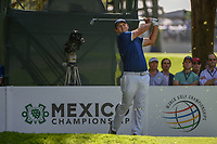 Patrick Reed (USA) watches his tee shot on 7 during round 1 of the World Golf Championships, Mexico, Club De Golf Chapultepec, Mexico City, Mexico. 2/21/2019.<br /> Picture: Golffile | Ken Murray<br /> <br /> <br /> All photo usage must carry mandatory copyright credit (© Golffile | Ken Murray)