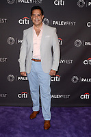 "LOS ANGELES - SEP 10:  Carlos Gomez at the ""The Menendez Murders"" at the 11th PaleyFest Fall TV Previews at the Paley Center for Media on September 10, 2017 in Beverly Hills, CA"