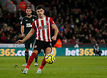 John Egan of Sheffield Utd during the Premier League match at Bramall Lane, Sheffield. Picture date: 5th December 2019. Picture credit should read: Simon Bellis/Sportimage
