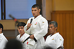 Satoshi Fujimoto (JPN), <br /> JULY 27, 2016 - Judo : <br /> Japan national team Send-off Party for Rio Olympic Games 2016 <br /> &amp; Paralympic Games <br /> at Kodokan, Tokyo, Japan. <br /> (Photo by AFLO SPORT)
