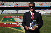 Jeremy Guscott rugby commentator during the 2018 Castle Lager Incoming Series 2nd Test match between South Africa and England at the Toyota Stadium.Bloemfontein,South Africa. 16,06,2018 Photo by Steve Haag / stevehaagsports.com