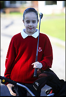 BNPS.co.uk (01202 558833)<br /> Pic: PaddyTimmons/BNPS<br /> <br /> British Open golf winner Georgia Hall in 2007 when aged just 11.
