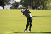 Hideto Tanihara (JPN) in action on the 13th during Round 2 of the ISPS Handa World Super 6 Perth at Lake Karrinyup Country Club on the Friday 9th February 2018.<br /> Picture:  Thos Caffrey / www.golffile.ie<br /> <br /> All photo usage must carry mandatory copyright credit (&copy; Golffile   Thos Caffrey)