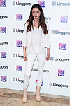 "Lucia Rivera attends the presentation of the new app ""Linggers"" in Madrid, Spain. April 06, 2017. (ALTERPHOTOS / Rodrigo Jimenez)"