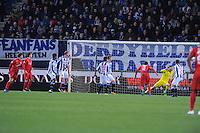 VOETBAL: HEERENVEEN: 06-02-16, Abe Lenstra Stadion, SC Heerenveen - FC Twente, uitslag 1-3, doelpunt FC Twente, ©foto Martin de Jong