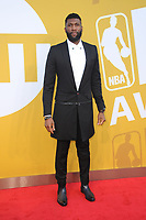 www.acepixs.com<br /> June 26, 2017  New York City<br /> <br /> Andre Drummond attending the 2017 NBA Awards live on TNT on June 26, 2017 in New York City.<br /> <br /> Credit: Kristin Callahan/ACE Pictures<br /> <br /> <br /> Tel: 646 769 0430<br /> Email: info@acepixs.com