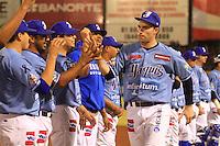 .Tercer juego de la serie final entre Yaquis y .Aguilas de Mexicali en ciudad Obregon.(Baldear de los llanos)