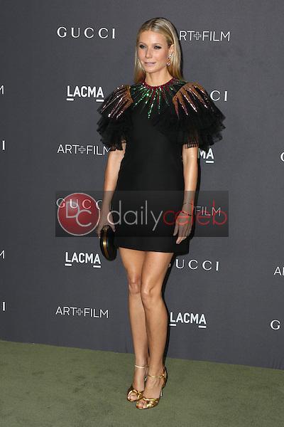 Gwyneth Paltrow<br /> at the 2016 LACMA Art +  Film Gala, LACMA, Los Angeles, CA 10-29-16<br /> David Edwards/DailyCeleb.com 818-249-4998