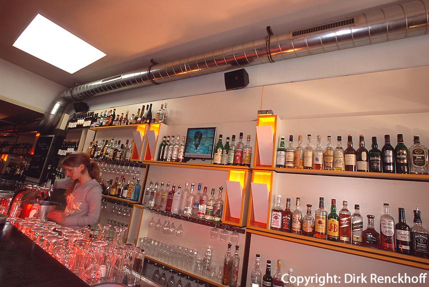 Deutschland, Hamburg, in der Dual Bar, Schanzenstraße