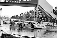 #1 Lola T600 of John Paul Jr. and Brian Redman races on the track during the Budweiser Grand Prix of Miami, Bicentennial Park, Miami, FL, February 27, 1983(Photo by Brian Cleary/bcpix.com)
